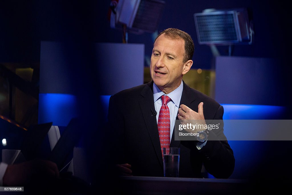 Vadim Zlotnikov, chief market strategist for AB, speaks during a Bloomberg Television interview in New York, U.S., on Tuesday, May 3, 2016. Zlotnikov discussed his investment strategies. Photographer: Michael Nagle/Bloomberg via Getty Images