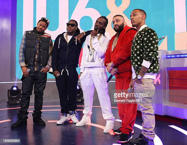 Vado Ace Hood Movado DJ Khaled and Bow Wow attend 106 Park at 106 Park studio on October 22 2013 in New York City