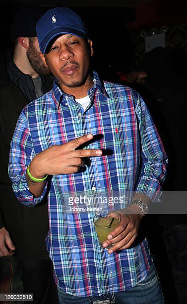Vado attends Angela Yee's birthday party at The Actor's Playhouse on January 7 2011 in New York City