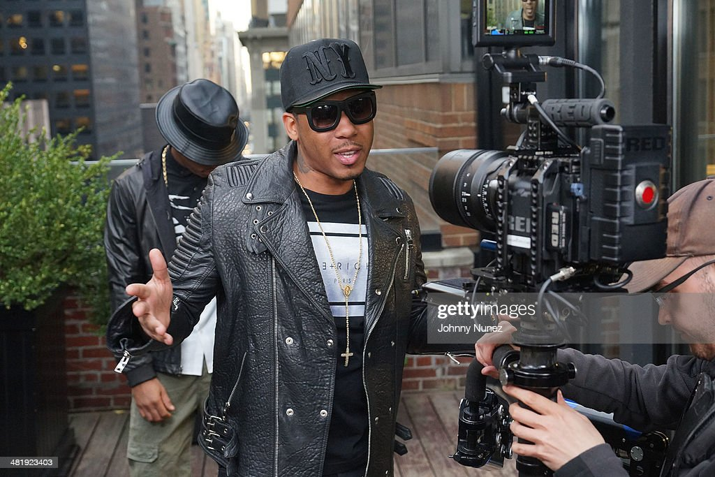 Vado attends his 'My Bae' video shoot featuring Jeremih at The Griffin on April 1, 2014 in New York City.