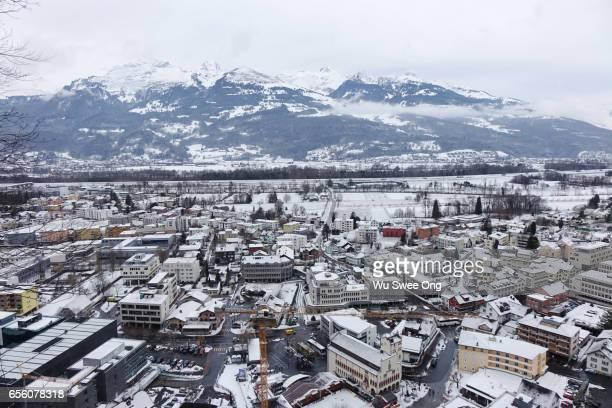 Vaduz in Winter