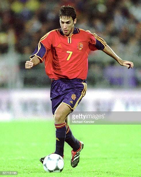 QUALIFIKATION 2001 Vaduz LIECHTENSTEIN SPANIEN 20 Raul GONZALES/ESP