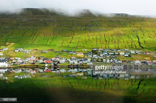 Vagur village on Suduroy island, Faroe Islands