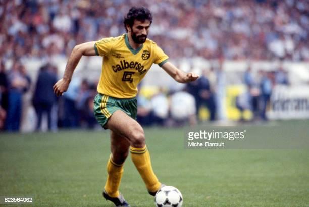 Vahid HALILHODZIC Psg / Nantes Finale de la coupe de France 1983 Parc des Princes