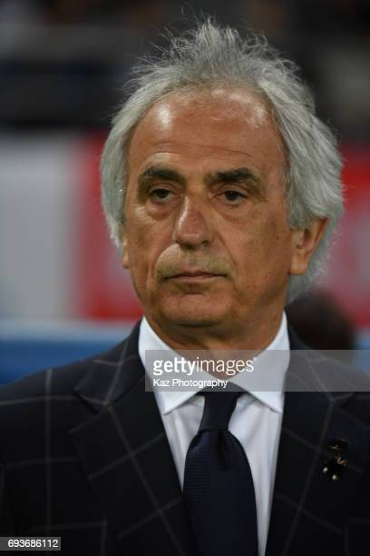 Vahid Halilhodzic head coach of Japan before the game during the international friendly match between Japan and Syria at Tokyo Stadium on June 7 2017...