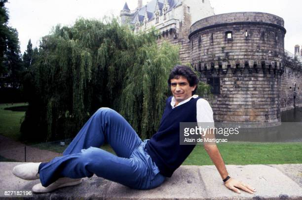 Vahid Halilhodzic of Nantes during a photoshoot in Nantes France on July 10th 1981