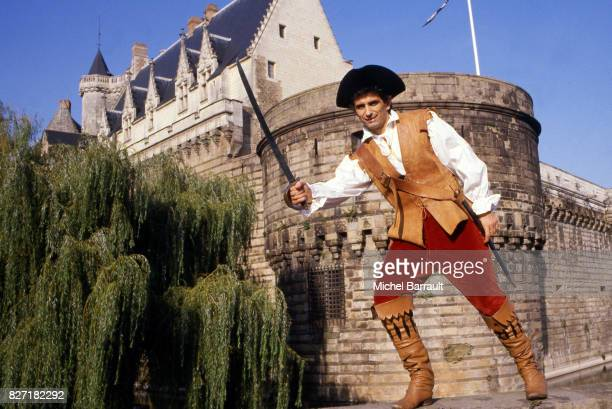 Vahid Halilodzic of Nantes during a photoshoot on October 28 1984 in Nantes France Michel Barrault / Onze / Icon Sport