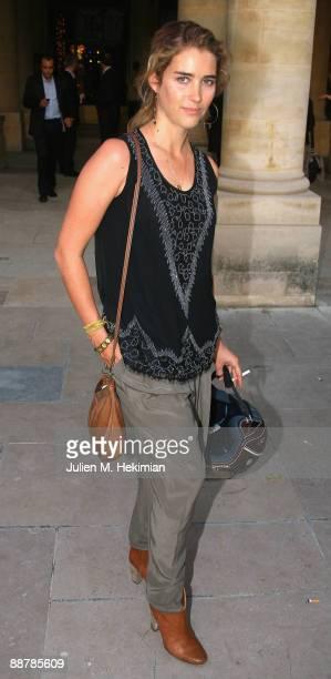 Vahina Giocante attends the 25th edition of 'La fete du cinema' at Ministere de la Culture on June 30 2009 in Paris France