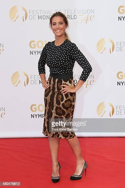 Vahina Giocante attends the Closing Ceremony and Golden Nymph Awards of the 54th Monte Carlo TV Festival on June 11 2014 in MonteCarlo Monaco