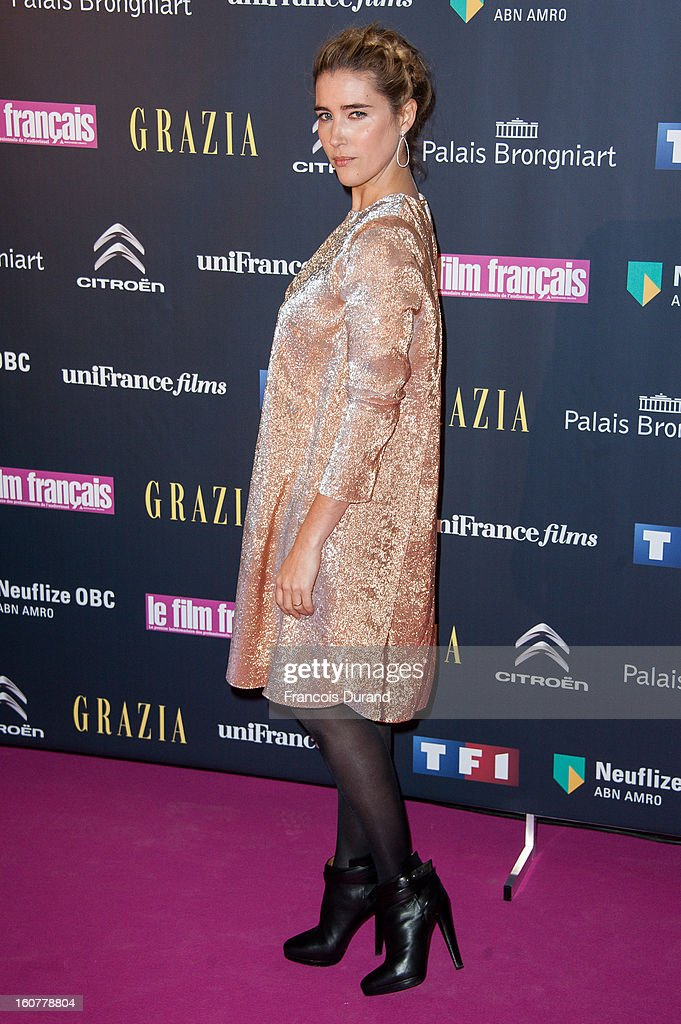 Vahina Giocante attends the 'Trophees Du Film Francais' 20th Ceremony at Palais Brongniart on February 5, 2013 in Paris, France.