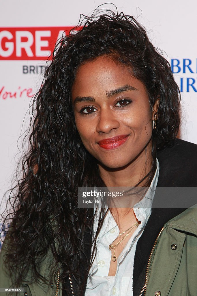Va$htie attends The Big British Invite launch at 78 Mercer Street on March 21, 2013 in New York City.