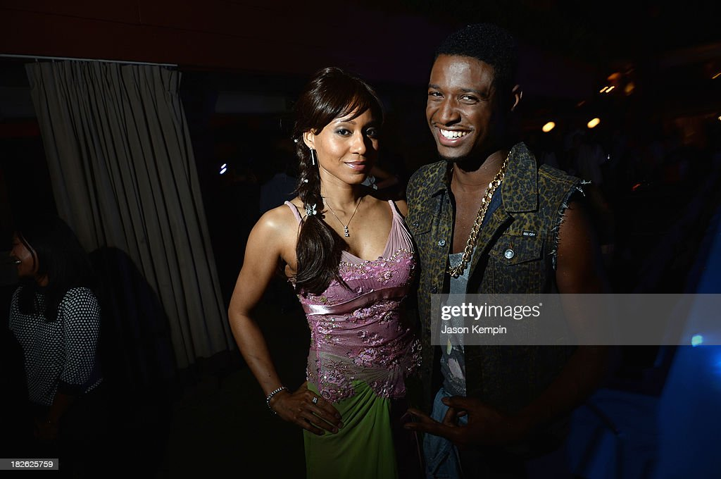 Vaja and actor JC Jones attend Star Scene Stealers Event at Tropicana Bar at The Hollywood Rooselvelt Hotel on October 1, 2013 in Hollywood, California.