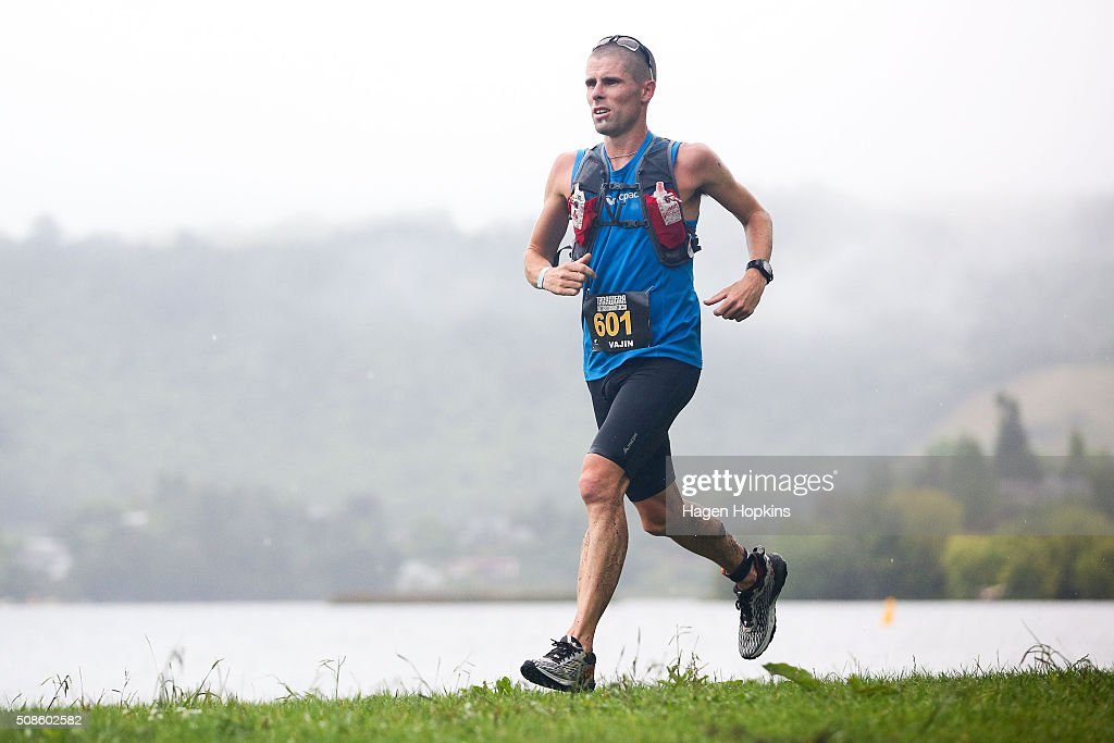 Vajin Armstrong of New Zealand during the Tarawera Ultramarathon on February 6, 2016 in Rotorua, New Zealand.