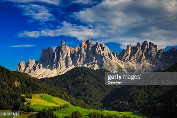 Val di Funes, San Giovanni Church - Villnöss, southtirol
