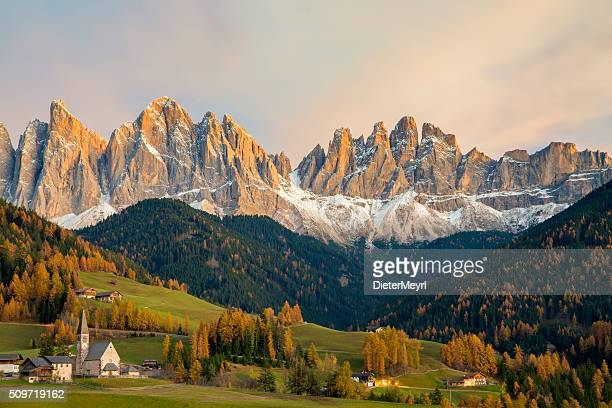 Val di Funes, St. Magdalena & Dolomites, Italy
