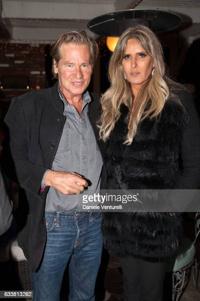 Val Kilmer and Tiziana Rocca attends Baume and Mercier Special Award at the Filming on Italy By Baume Mercier on February 3 2017 in Los Angeles...