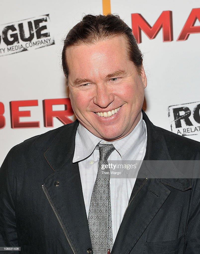 Val Kilmer attends the 'MacGruber' premiere at Landmark's Sunshine Cinema on May 19, 2010 in New York City.