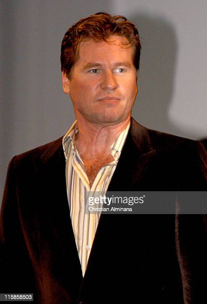 Val Kilmer during 31st American Film Festival of Deauville 'Kiss Kiss Bang Bang' Premiere at CID in Deauville France