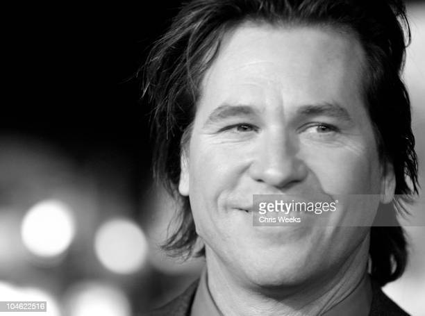Val Kilmer during 'Alexander' World Premiere Black White Photography by Chris Weeks at Grauman's Chinese Theater in Hollywood California United States