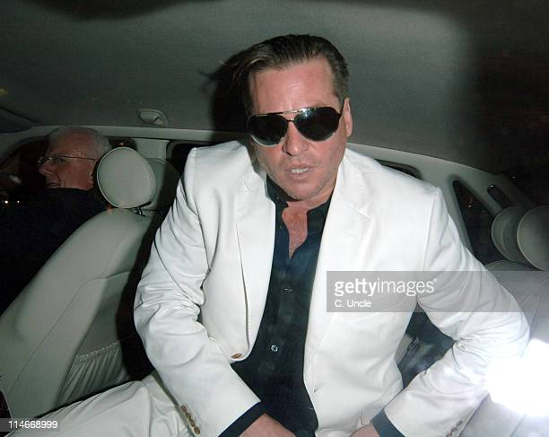 Val Kilmer during Harpers Queen Launch '100 Most Beautiful Women of the 20th Century' Exhibition at Selfridges in London Great Britain