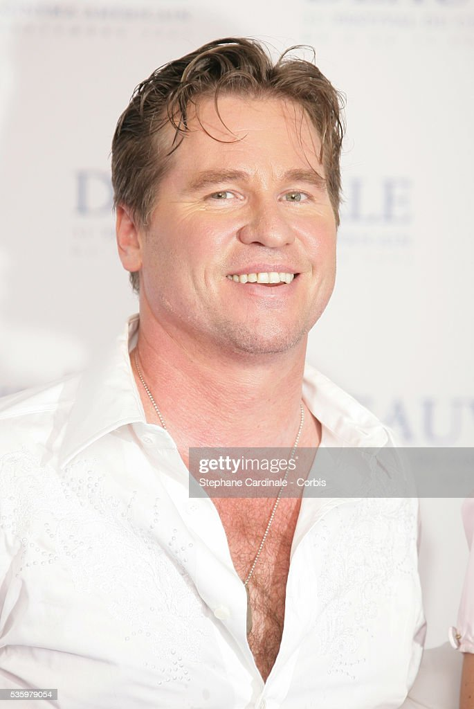 Val Kilmer poses at 'Kiss Kiss Bang Bang' photocall during the 31st American Deauville Film Festival.