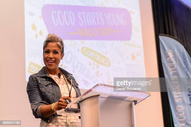 Val Warner hosts the Allstate Foundation Good Starts Young Rally on June 21 2017 in Chicago Illinois