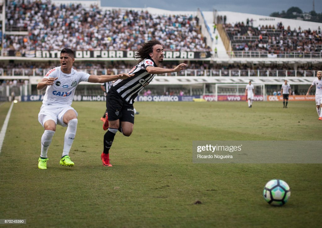 Santos v Atletico MG - Brasileirao Series A 2017