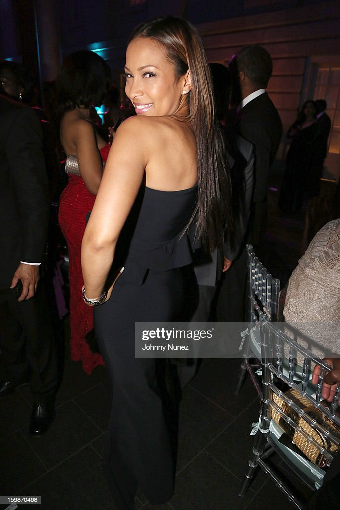 Valeisha Butterfield-Jones attends the 2013 BET Networks Inaugural Gala at Smithsonian National Museum Of American History on January 21, 2013 in Washington, United States.