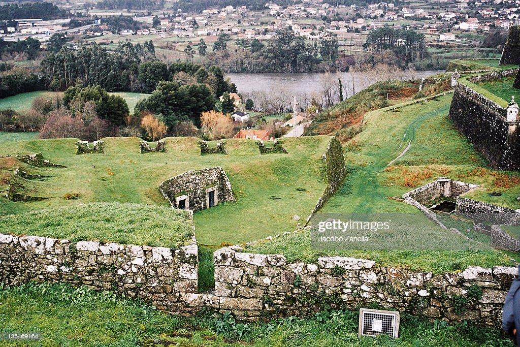 Valenca Do Minho Portugal Stock Photo Getty Images - Valenca portugal map
