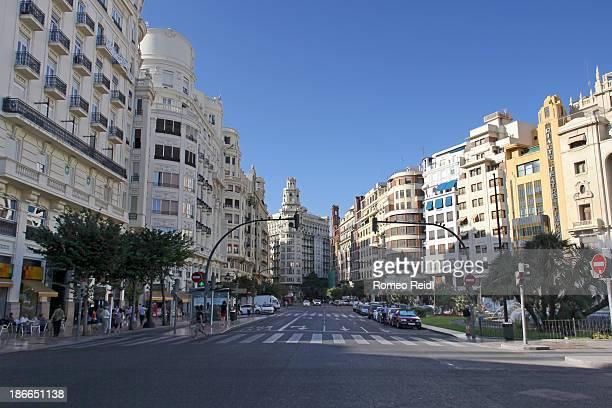 Valencia - city center view