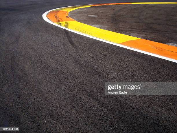 Valencia formula one race track