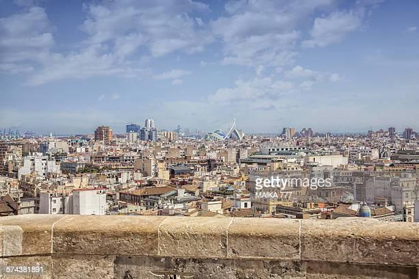 Valencia, the contrast of the old & the futuristic