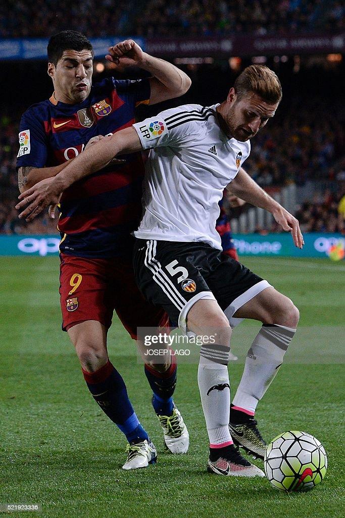 Fc barcelona v valencia cf la liga getty images - German valencia ...