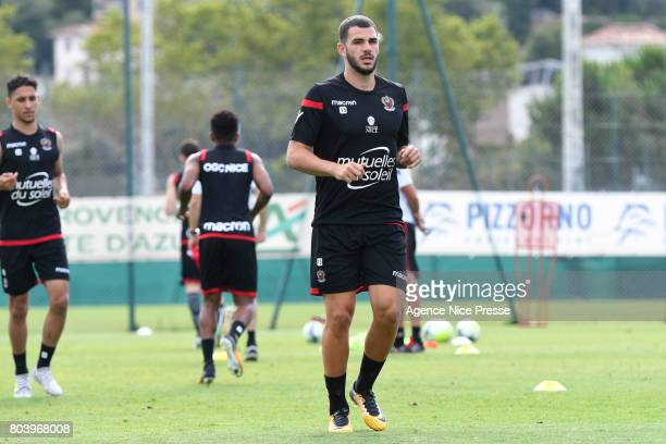 Valentin Eysseric of Nice during training session of OGC Nice on June 30 2017 in Nice France