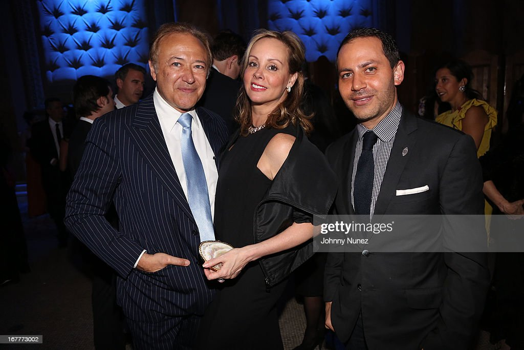 Valentin Hernandez, Yaz Hernandez and Gabriel Rivera-Barraza attend the 67th Anniversary Jose Limon Dance Foundation Gala at Capitale on April 29, 2013 in New York City.