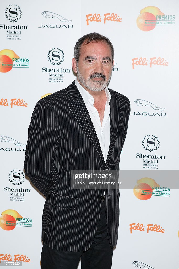Valentin Paredes attends 'Orange And Lemon' Awards ceremony at Sheraton Mirasierra Hotel on April 29, 2013 in Madrid, Spain.