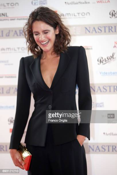 Valentina Belle attends the nominees presentation of Nastri D'Argento at Maxxi Museum on June 6 2017 in Rome Italy