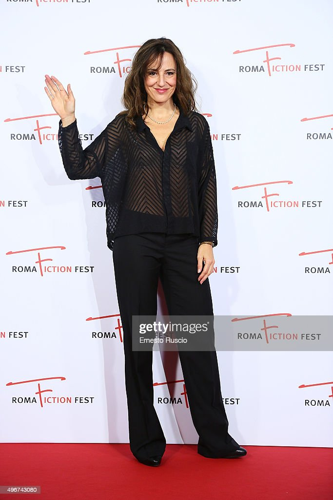 Valentina Carnelutti attends the 'Lea' red carpet during the RomaFictionFest 2015 at Auditorium Conciliazione on November 11, 2015 in Rome, Italy.