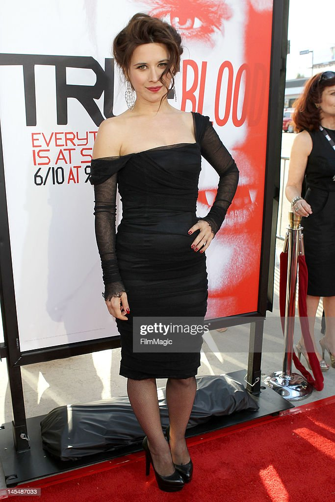 Valentina Cervi attends the HBO's Season 5 Premiere Of 'True Blood' at ArcLight Cinemas Cinerama Dome on May 30, 2012 in Hollywood, California.