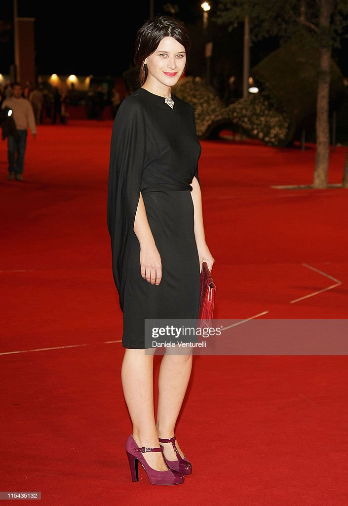 Valentina Cervi attends the Le Deuxieme Souffle and Anna Magnani La Lupa Romana premiere during Day 1 of the 2nd Rome Film Festival on October 18...