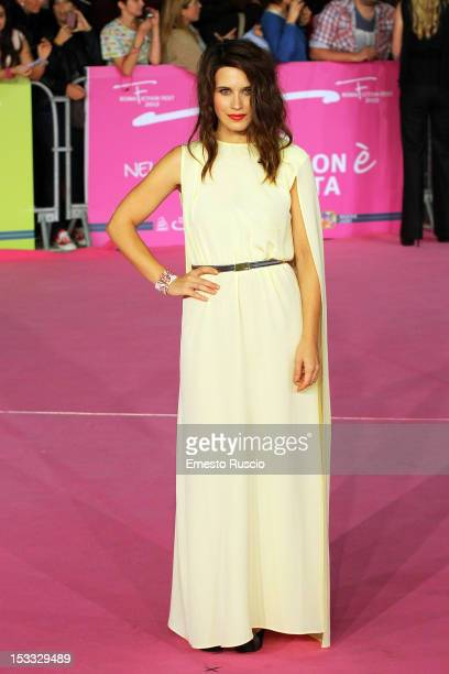 Valentina Cervi attends the 'True Blood 5' photocall during the RomaFictionFest on 2012 at Auditorium Parco Della Musica October 3 2012 in Rome Italy