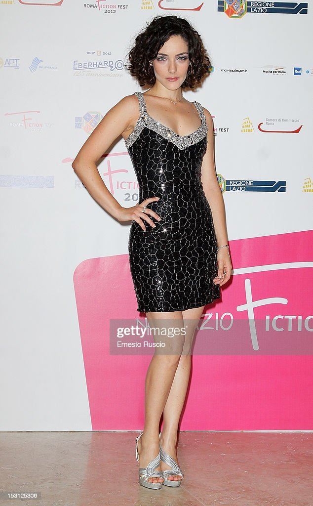 Valentina Conti attends the ' RomaFictionFest 2012 - Opening Ceremony' at Auditorium Parco Della Musica on September 30, 2012 in Rome, Italy.
