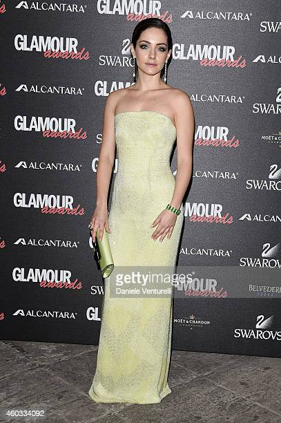 Valentina Corti attends Glamour Awards 2014 on December 11 2014 in Milan Italy