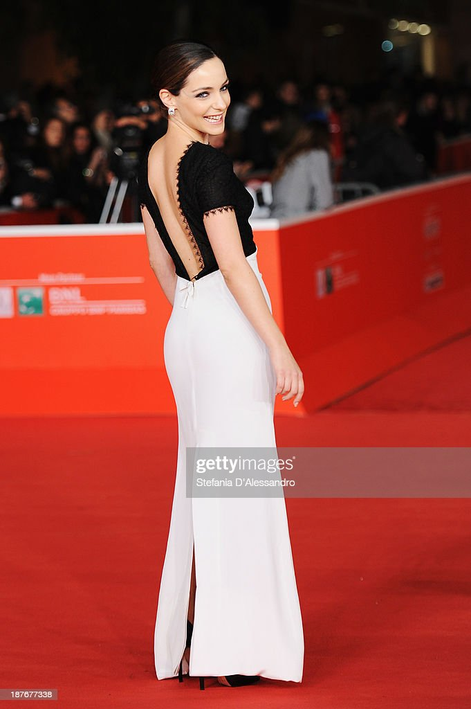 Valentina Corti attends 'Romeo And Juliet' Premiere during The 8th Rome Film Festival on November 11, 2013 in Rome, Italy.