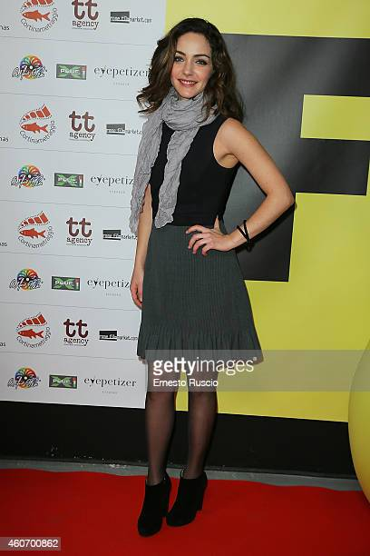 Valentina Corti attends the Fabrique du Cinema party at Studios on December 19 2014 in Rome Italy
