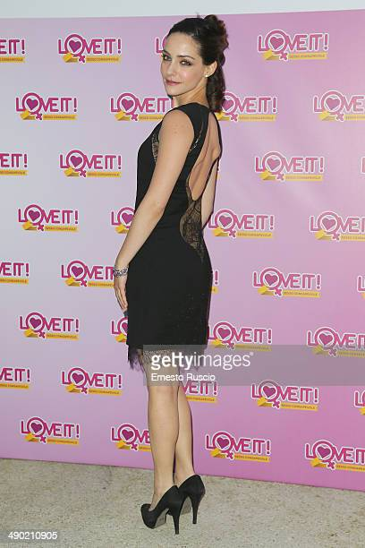 Valentina Corti attends the 'Love It' Campaign For Safe Sex party at Villa Laetitia on May 13 2014 in Rome Italy
