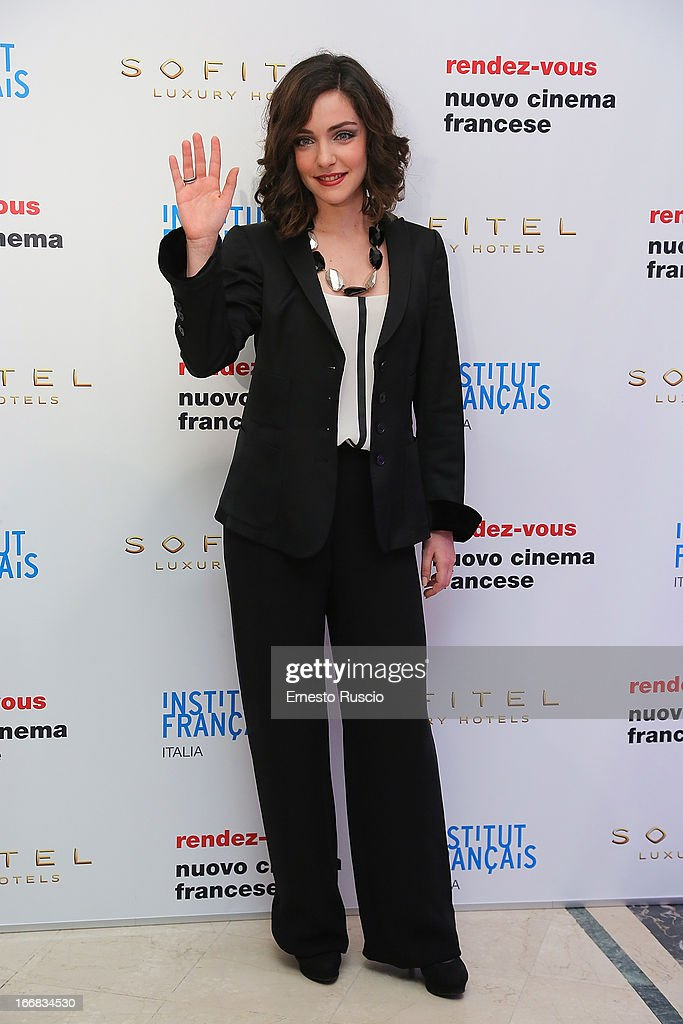 Valentina Corti attends the Rendez-Vous Film Festival opening night at Hotel Sofitel on April 17, 2013 in Rome, Italy.