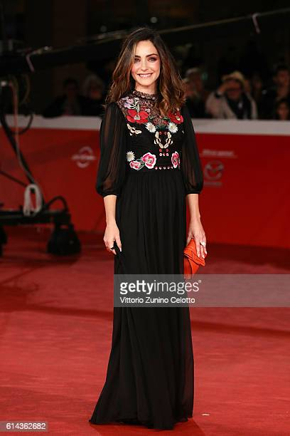 Valentina Corti walks a red carpet for 'Moonlight' at Auditorium Parco Della Musica on October 13 2016 in Rome Italy