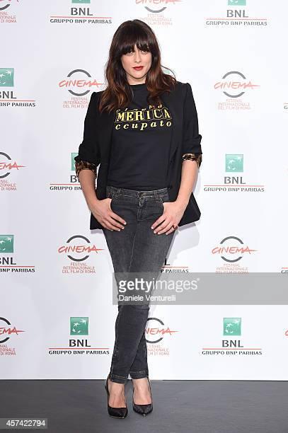 Valentina Lodovini attends 'Buoni A Nulla' Photocall during The 9th Rome Film Festival at Aditorium Parco Della Musica on October 18 2014 in Rome...