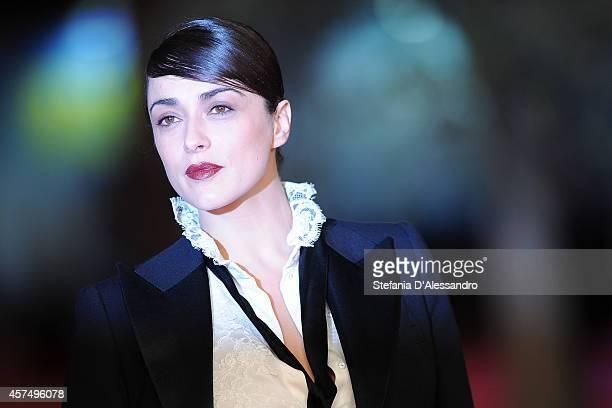 Valentina Lodovini attends the 'I Milionari' Red Carpet during the 9th Rome Film Festival on October 19 2014 in Rome Italy